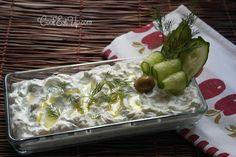 Τζατζίκι ⋆ Cook Eat Up! Tzatziki, Greek Recipes, Dips, Pudding, Eat, Cooking, Desserts, Food, Spreads
