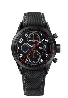 Freelancer 7730-BK-05207 Mens Watches - Automatic chronograph Urban Black | RAYMOND WEIL Genève Luxury Watches Check out this Mens Freelancer watch from RAYMOND WEIL