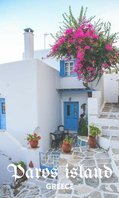 Explore the beautiful #Paros island in Greek Cyclades, your alternative to expensive and crowded Santorini. | #Cyclades, #Greece