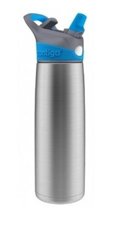 Contigo Sheffield... BEST water bottle ever!  Keeps water cold for 20 hrs.