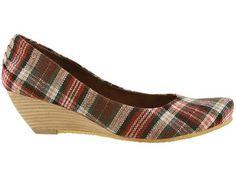 Beautiful Plaid Shoes For Women