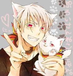 Neko-Prussia on deviantART. erm. i've watched some of Hetalia but frankly the tiny episodes piss me off. I see the fan art of prussia, well... i may have to go back there! i uhhh... dig boys with cat ears! does he really have cat ears? somehow i doubt it - u know fan art! i wish all the cute boys i dated in college had cat ears!!