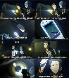 Re:Zero Pokemon master! - 9GAG