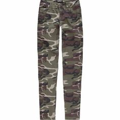 I Love Camo pants! They work for ALL seasons and match up well with almost any color