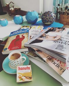 #saturday #goodday #bluelove #blue #love #home #book #turkishcoffee #coffeetime #adıyamankahvesi #hanuta #pleasure #vogue #voguemagazine #goodafternoon #sunumönemlidir by merveillechefmerve