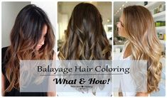 What Is Balayage Hair Coloring: Latest Hair Coloring Trends