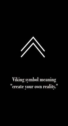 Viking symbol for create your own reality. Viking symbol for create your own reality. Viking symbol for create your own reality. Future Tattoos, Tattoos For Guys, Men Tattoos, Small Tattoos For Men, Tattoos Ideas Men, Best Tattoos For Men, Sleeve Tattoos, Viking Tattoos For Men, Thumb Tattoos