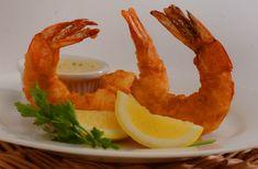 Vanilla fried shrimp with vanilla honey mustard
