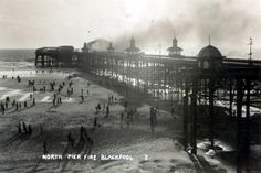 Postcards of the Past - Old Postcards of Blackpool, Lancashire Blackpool Uk, St Anne, Old Postcards, The Past, Louvre, Fire, 1920s, Travel, Memories