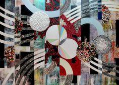 "Saatchi Art Artist John Kokkinos; Painting, ""Electromagnetic Radiation"" #art"