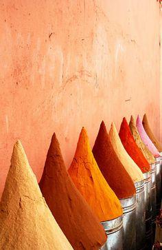 orange spices