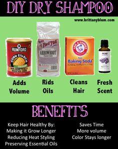 DIY Dry Shampoo :: Have a happy HAIR day | Brittany Blum