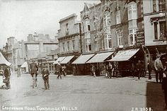 Grosvenor Road (now Cafe Nero and entrance to Royal Victoria Place)