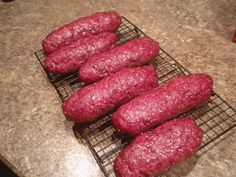 Homemade Summer Sausage | Busy-at-Home