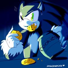 Gasp! You have just caught Werehog Sonic red-handed stealing cookies from your cookie jar. What do you do?
