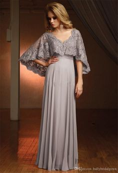 2018 Plus Size Mother of Bride Dresses Floor Length Pink Silver Gray Lace Chiffon Beads Cheap Dress for Mothers Brides Custom Made Vestidos Mob Dresses, Cheap Dresses, Elegant Dresses, Beautiful Dresses, Fashion Dresses, Girls Dresses, Bridesmaid Dresses, Formal Dresses, Bride Dresses