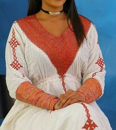 Ethiopian Traditional Dress, African Traditional Wedding, Habesha Kemis, Ethiopian Wedding, Ethiopian Dress, Tie Dye Maxi, Traditional Clothes, Modern, Clothing