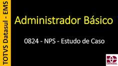 Totvs - Datasul - Treinamento Online (Gratuito): 0824 - EMS - Administrador Básico - NPS - Estudo d...
