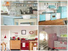 #decoracion LAS MEJORES CASAS DE MÉXICO. Los electrodomésticos de colores, no sólo están de moda, también se están convirtiendo en algo común en muchas cocinas. Un horno de color naranja, azul o rojo brillante, añade un toque audaz a su cocina, además de energía, carácter y dimensión. En Grupo Sadasi, usted puede ejercer su crédito INFONAVIT o FOVISSTE, para comprar su casa en nuestros desarrollos. www.sadasi.com