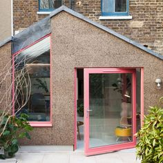Edwardian Haus, Glass Extension, Rear Extension, 1960s House, Architects London, Victorian Terrace House, Cork Wall, London Architecture, House Siding