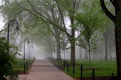 PENN STATE – CAMPUS – Pattee Mall on Penn State's University Park campus.