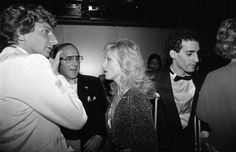 barry manilow getty images | Barry Manilow and Morgan Fairchild News Photo…