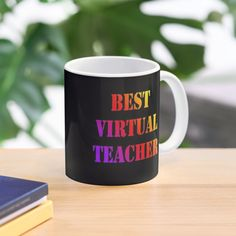 """Best virtual teacher 2020"" Mug by Alexsane | Redbubble Cute Halloween, Halloween Gifts, Halloween Decorations, Halloween Costumes, Funny Teacher Gifts, Back To School Gifts, Cute Mugs, Earth Day, Mother Earth"