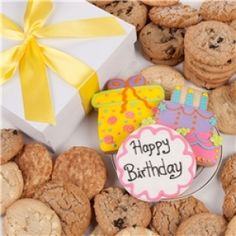 Take a walk down memory lane with our MM Cookies Gift Tin Cookie