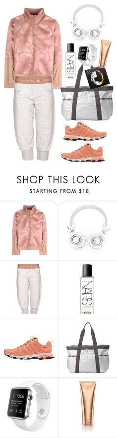 """""""Adidas by Stella McCartney"""" by thestyleartisan ❤ liked on Polyvore featuring adidas, Master & Dynamic, NARS Cosmetics, LeSportsac and Victoria's Secret"""