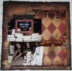 The End - Scrapbook.com