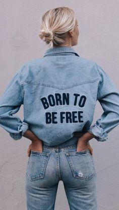 Jeans patsches pimp je eigen broek tas of mischien wel een jasje