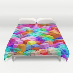 Duvet Cover featuring Abstract Colorful pattern by Eduardo Doreni College Dorm List, Picnic Blanket, Outdoor Blanket, Stores, Tech Accessories, Color Patterns, Beach Mat, Duvet Covers, Wall Art