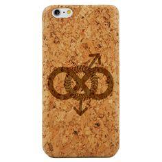 Infinity Gay Pride- Laser Engraved Wood Phone Case (Maple,Cherry,Black,Cork)