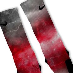 Red Storm Customized Nike Elite Socks