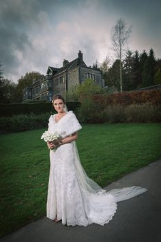 Sheffield November Winter Wedding Bride