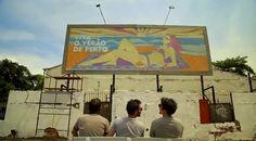 Azione non convenzionale di Nivea, con un cartellone pubblicitario visibile a Rio de Janeiro solo quando c'è il sole!