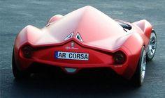 Alfa Romeo Disco Volante Concept [Futuristic Cars: http://futuristicnews.com/category/future-transportation/]: