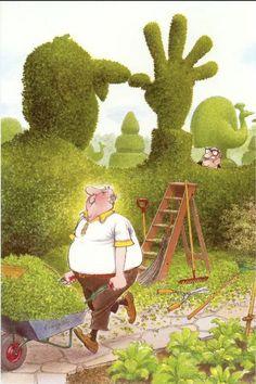 BILL KIMPTON - Thumbnose Garden - item by google