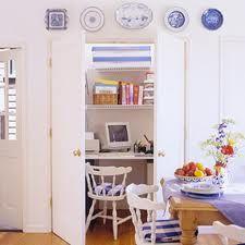 small closet desk