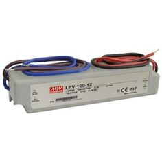 Mean Well LED power supply Switching power supplies of the LPV series by Mean Well are devices in a sealed plastic housing wi . Ac Circuit, Led Tape, Emergency Power, The 100, Wellness, Future House, Bulbs, E14 Led, Circuits