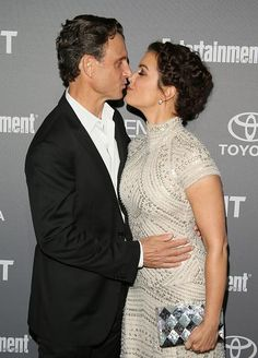 The President (Grant) and First Lady (Bellamy)