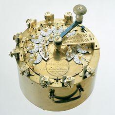 Johann Christoph Schuster, calculating machine, 1805-1820.Deutsches Museum, Munich