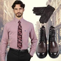 Run your Elegance 365 days a year! Elegance is a mindset Trendy red Outfit - Petunia flowers and Equestrian - Runit365 your Elegant Men Store  #shirt #shoes #menstyle #CreateYourStyle #bestylish