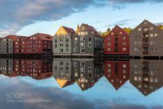 Trondheim Nidelva Norway by EuropeTrotter