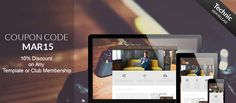 Joomla Template Coupons March 2015