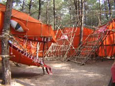 These incredible pioneering structures built by Israeli Scouts are a real inspiration