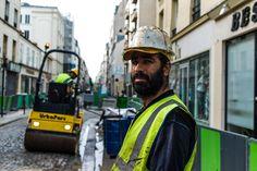 Street Portrait Of Dincer Dakir #StreetWorker #Paris #75011 #Popincourt #Paris11