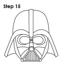 You can stop at this quick drawing for a rough, sketchy look or complete your Darth Vader drawing by continuing to the final step below. Description from new-york-2088-12.babylady.biz. I searched for this on bing.com/images