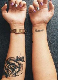 Black Rose Floral Tattoo Ideas Inner For. Trendy Tattoos, Black Tattoos, Small Tattoos, Tattoos For Guys, Cool Tattoos, Tatoos, Classy Tattoos, Elegant Tattoos, Neue Tattoos
