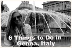 Genoa definitely isn't the first city that comes to mind when you think about Italy. Although it doesn't have the curb appeal that Rome, Venice and Florence may have, Genoa has its perk…